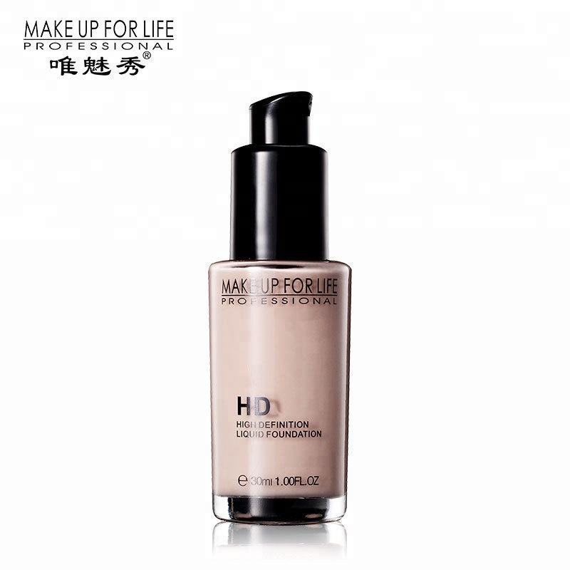 makeup 30ml Nude Efficacy OIL-CONTROL Natural Wholesale waterproof Liquid foundation