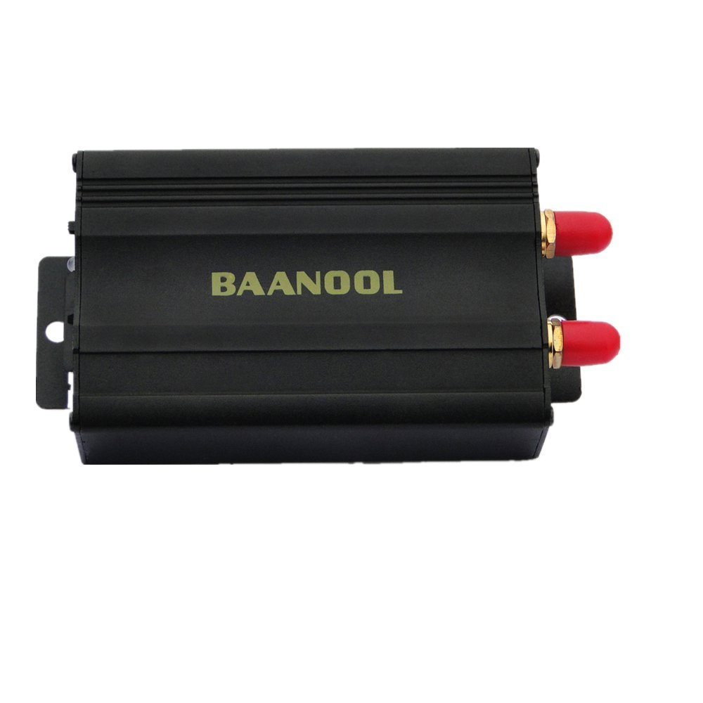 BAANOOL Car GPS Tracker for Vehicles GPS Tracking System Real Time Car Tracker by App Pc Version Web Online Tracking TK-103A