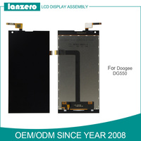 Original for Doogee DG550 LCD Display with Touch Screen Digitzier Assembly