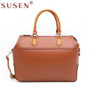 SUSEN handbags 2018 Newest Big Fashion Pu Leather Ladies Shoulder Bags Women Handbags,Wholesale China Custom Tote Bags handbags