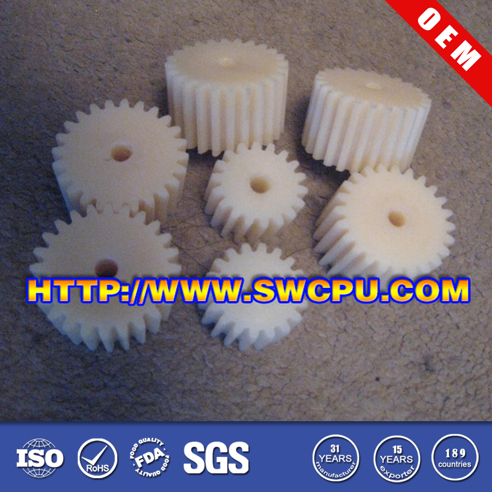 Nylon pom abs plastic bevel gear small plastic pinion gear