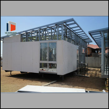 Modular steel and glass house buy modular homes steel for Prefab glass house prices