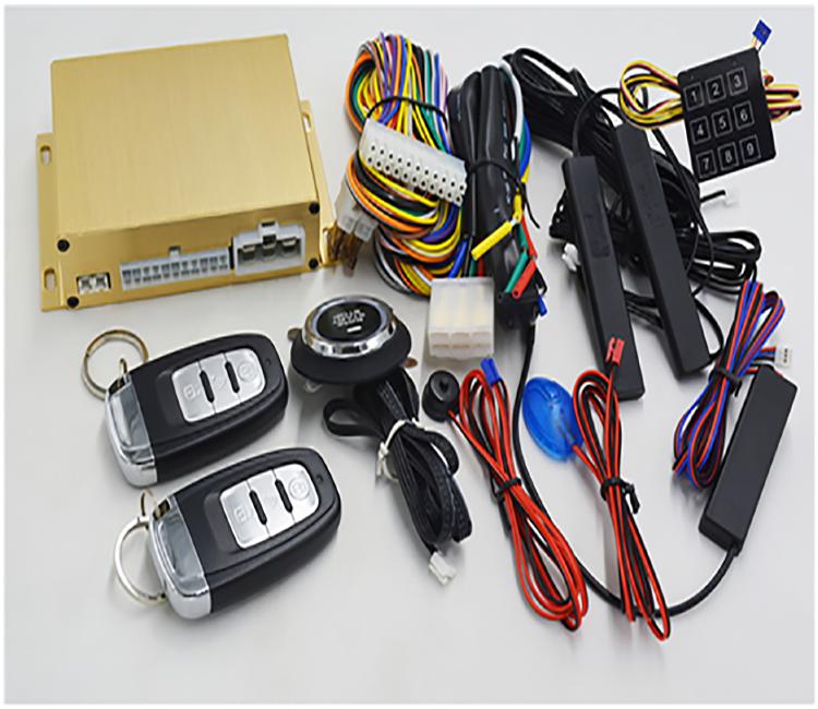 cardot automotive rfid keyless entry push button engine start car alarm online sale discount price china supplier