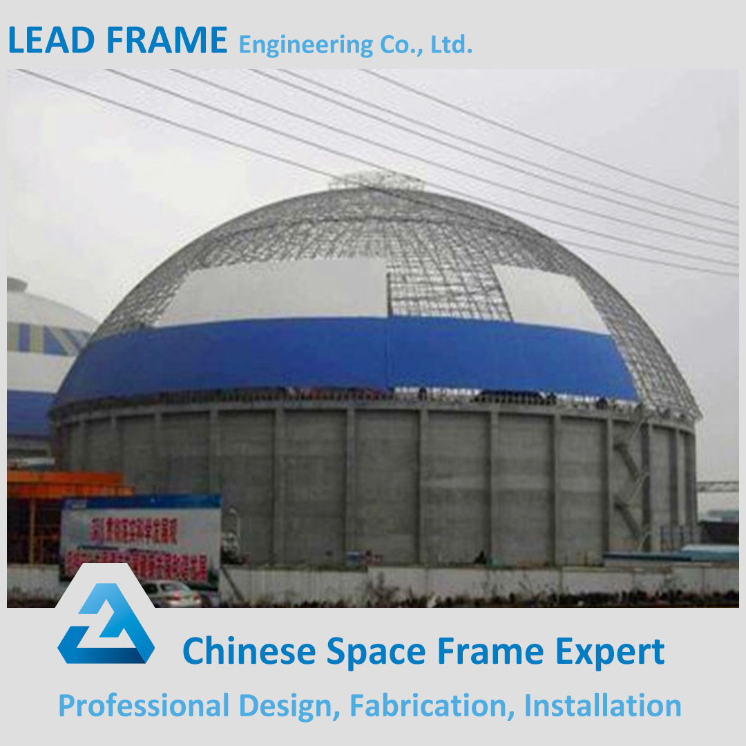 lightweight type steel space frame coal power plant