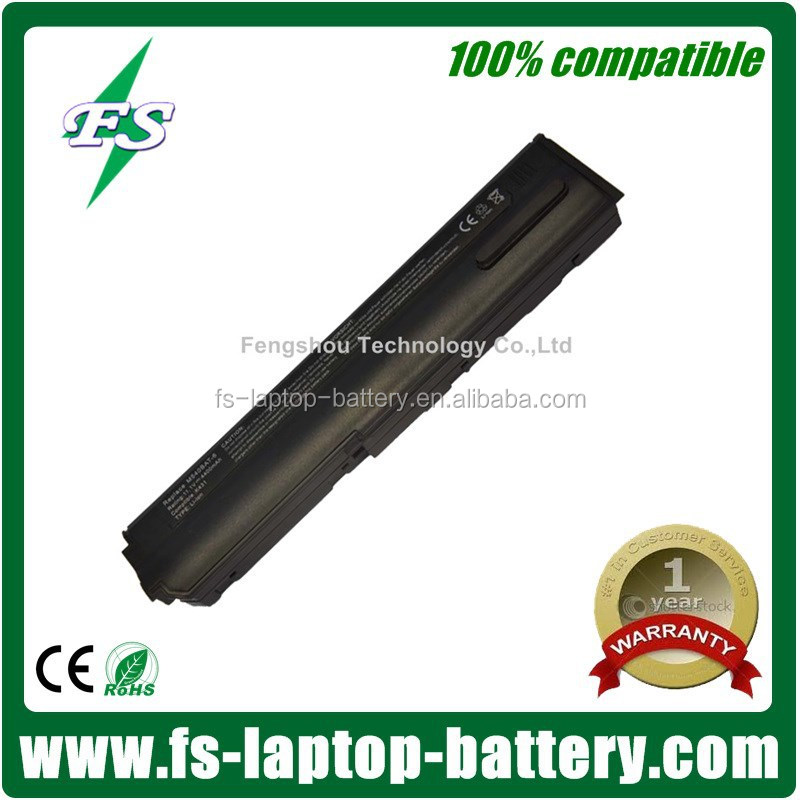 New arrival M540BAT-6 11.1V,6 cell laptop batteries for Clevo M54,M55,M540,M540G,M540V,M550 Series li-ion rechargeable battery