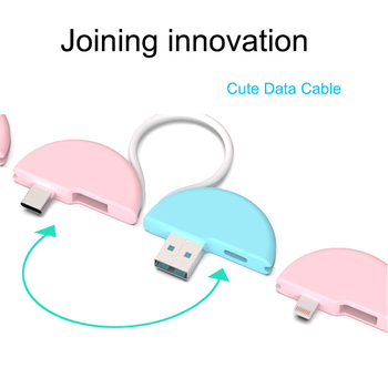 Joining data charging micro usb type c lighting cable