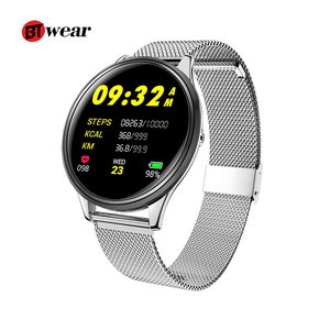 2019 New Arrival SN58 BT Smart Watch with Dynamic Heart Rate IP68 Waterproof super thin classical Business Watch for Men