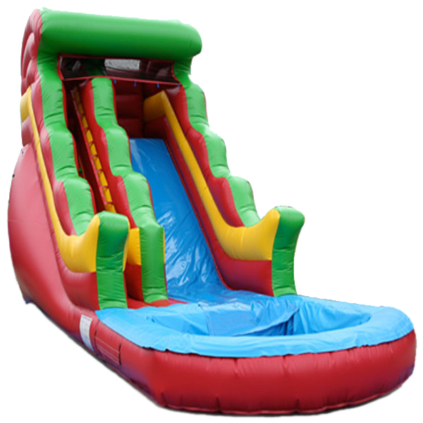 Specialized suppliers 6.7mX5.6mX4.5m inflatable bounce with slide
