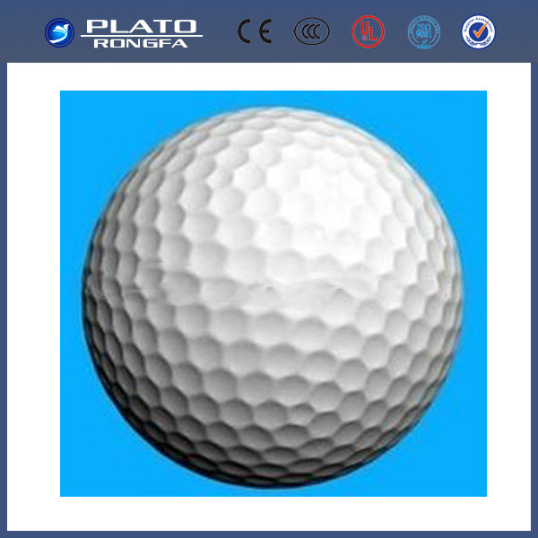 Golf ball self inflating foil balloons / flashing led light up balloons / large helium balloons