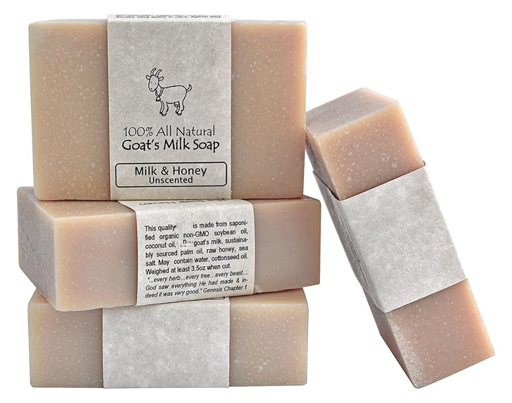 Private Label All Natural Fragrance Handmade Goat Milk Soap