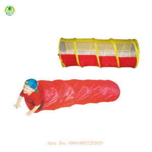 Collapsible toddlers play tunnel and tent set / foldable play tunnel with tent (QX-167F)