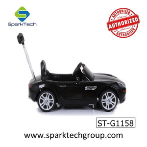 Hot sale top quality new style BMW Z8 licensed baby ride on cars with push handle car