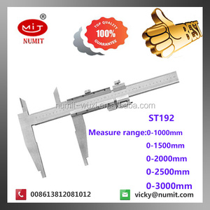 Laser diameter measuring instrument Vernier calipers with long jaw