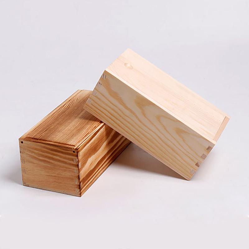 Pan pinho barato por atacado logotipo personalizado embalagem caixa de presente de madeira