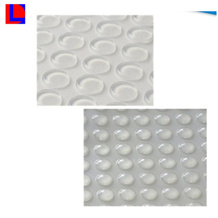 China manufacturers Customized 3M clear adhesive pads silicone pads
