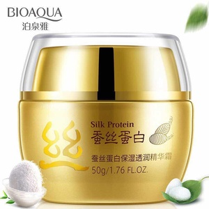 OEM ODM silk protein moisture Skin whitening Face Cream in china