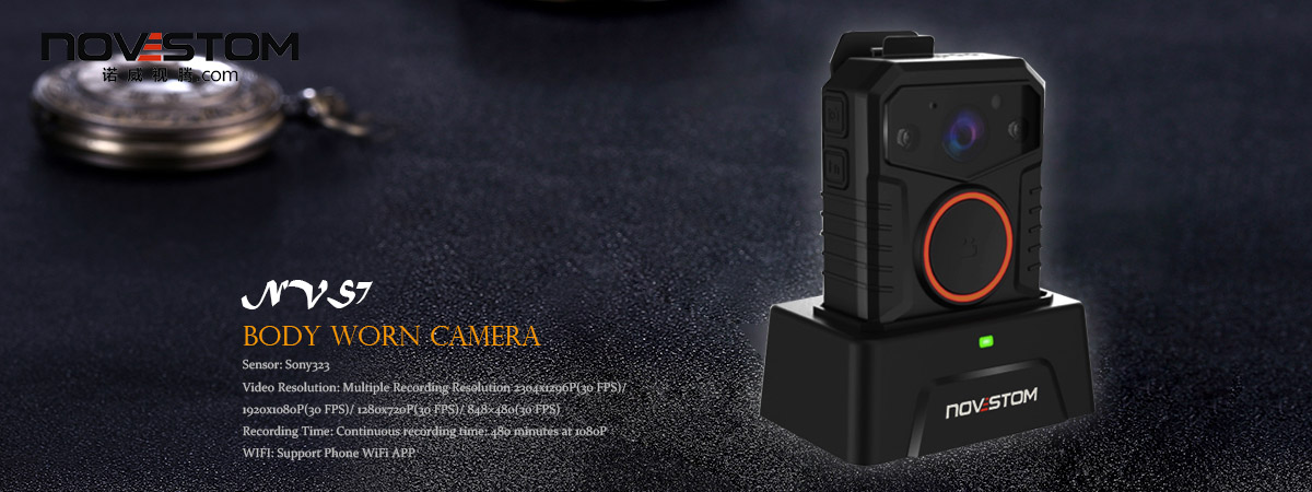 Mini Wifi H.264 CMOS 64G HD photo video night vision WiFi option police body camera