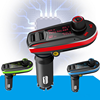2016 hot MP3 Player Wireless FM Transmitter Car Kit&USB SD MMC LCD Remote car MP3