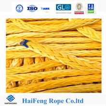 High strength UHMWPE Braid Winch Rope HMPE Rope