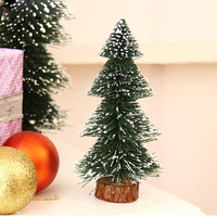 Green Pine tree Decorative artificial Christmas MINI tree for tabletop Decoration