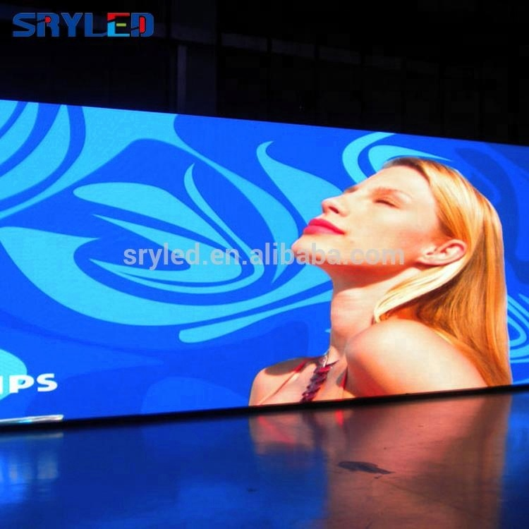 Sryled Penuh Warna P5 Indoor Film LED Display TV LED Display Panel
