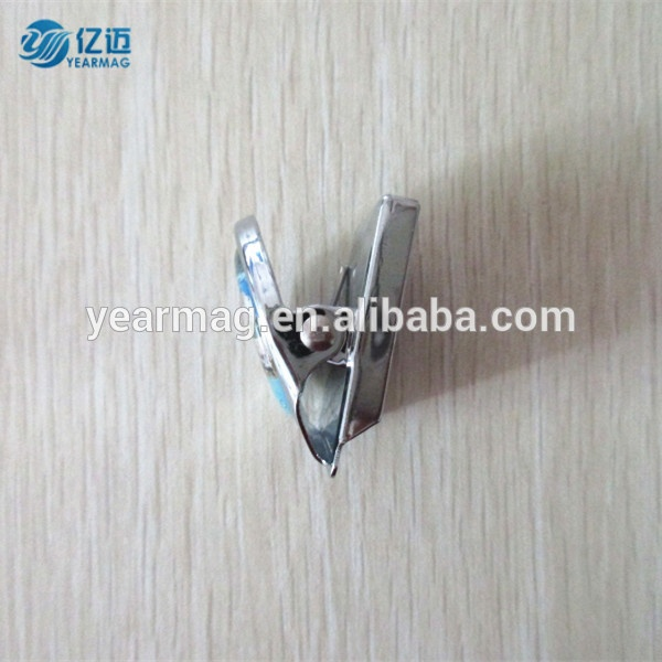 Widely Used Office and Home Refrigerator Magnets Metal Clips With Strong Magnetic Force for Photo Displays Holding Documents