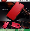 High-grade phone leather holster case for G4 Good quality stand function case for lg g4