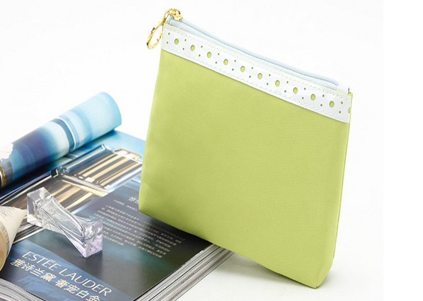 Fancy make up cosmetic bags promotional free sample