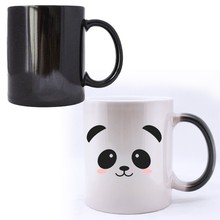hot water heat sensitive color changing mug