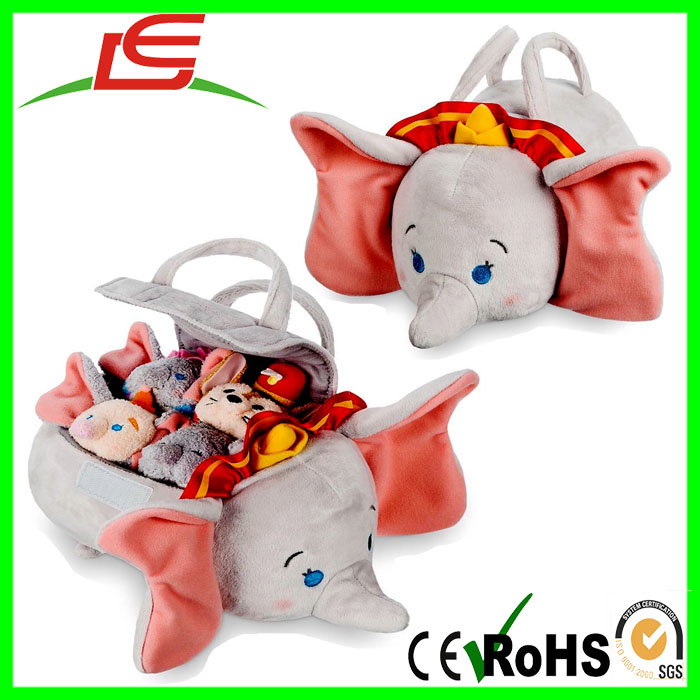 Wholesale DUMBO Tsum Store Plush Set Small Tote as kids toy box
