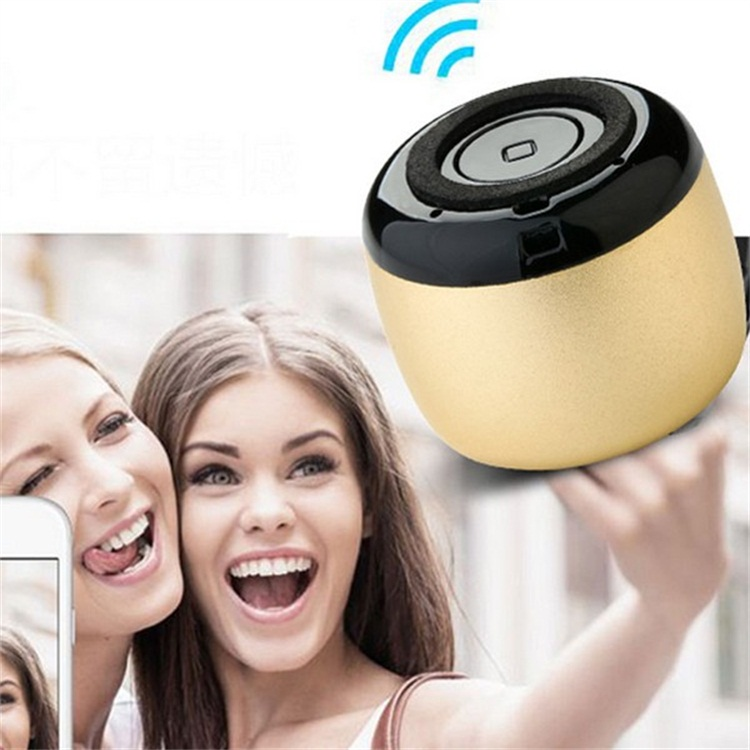 New Cheap Mini Outdoor Rechargeable Selfie Speaker Wireless with Mic