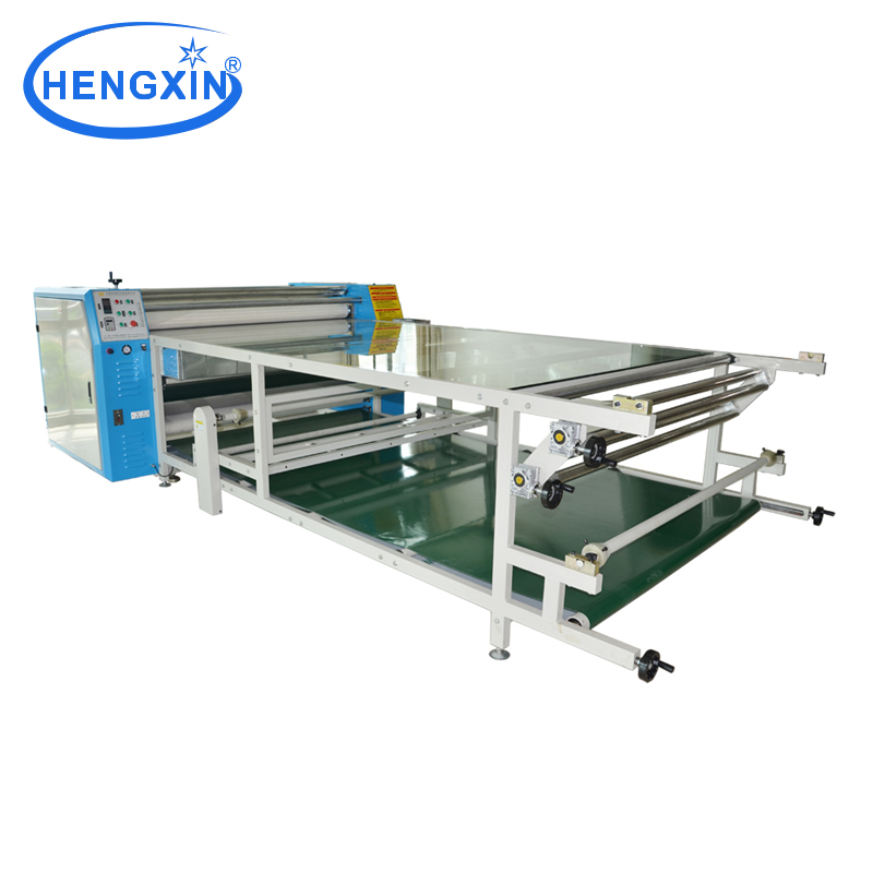 Large format sublimation heat transfer printing equipment for t-shirt printing press