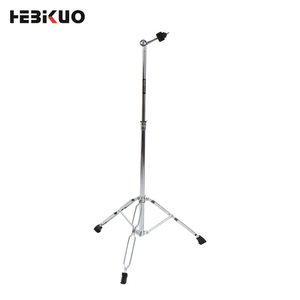 Percussion instrument accessories display straight drum cymbal stand