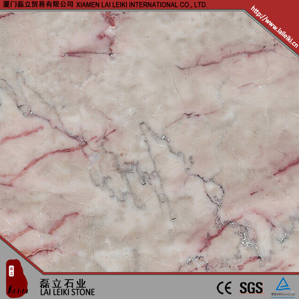 High standard production Verden-red-gream red verona marble price