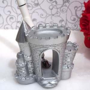 Silver Castle Pen Set