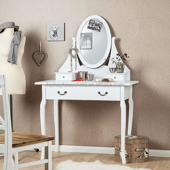 antique pas cher meubles coiffeuse avec grand miroir et tiroir