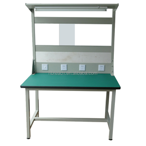 ESD adjustable height anti-static workbench