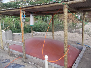 China factory household 10m3 biogas digester 8m3 biogas system 6m3 biogas plant home using