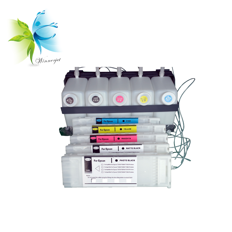 ciss for epson t7270 t5270 t3270 with chip or decoder bulk ink system