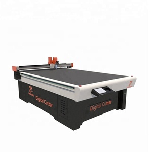 China Factory door mat/car met CNC oscillating Cutting Machine Mat cutter cnc - Brand ZHUOXING