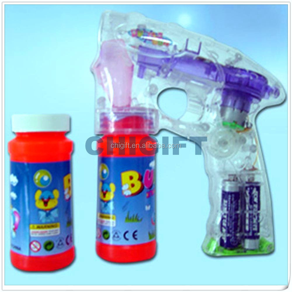 Promotional Gifts LED Soap Bubble Water Gun