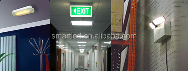 Acrylic Emergency Hanging Type Exit Sign Light With 3w Led