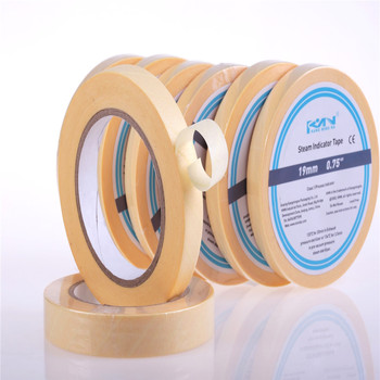 autoclave chemical indicator tape for dry heat sterilization