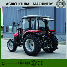 Direct Injection 4 Wheel Drive 70 HP Wheeled Farm Tractor For Sale