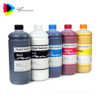 High performance Textile Pigment ink for Dtg Printer similar as for Dupont DTG ink for Epson DX4 DX5 DX7 5113 4720 Head printers