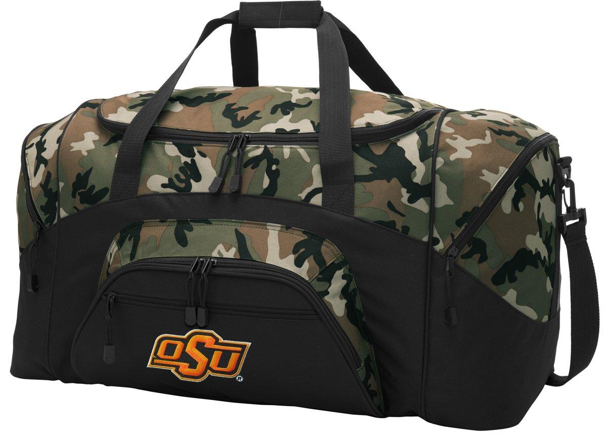 1ac0caeacc54 Get Quotations · OSU Cowboys Duffel Bag CAMO Oklahoma State Gym Bags Luggage