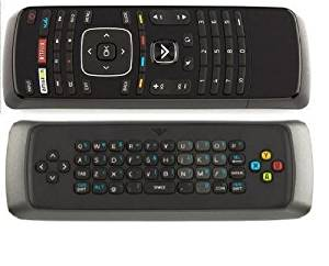 VIZIO XRV13D Qwerty Keyboard Remote For 3D Internet TV