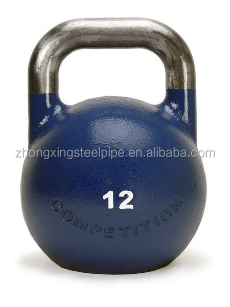 Land Fitness Spray Paint Kettlebell Gym Equipment