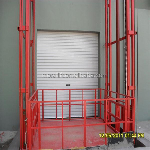 Goods And Personnel Lifting: Stationary Chain Lift Hydraulic Elevator Platform For