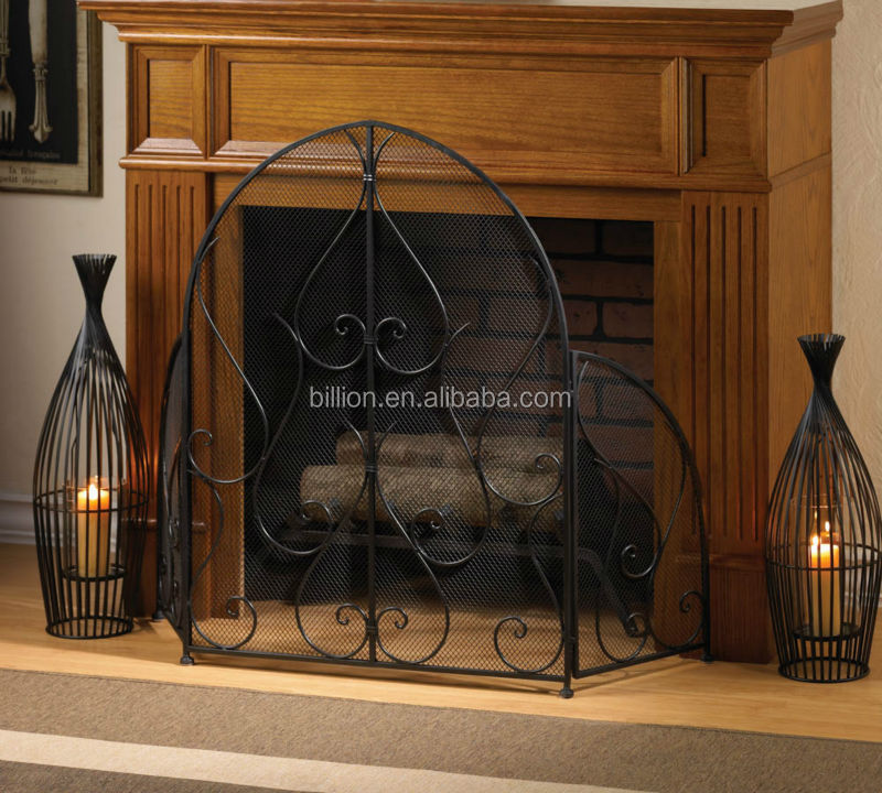 Wrought Iron Fireplace Screen Suppliers and Manufacturers at Alibaba.com